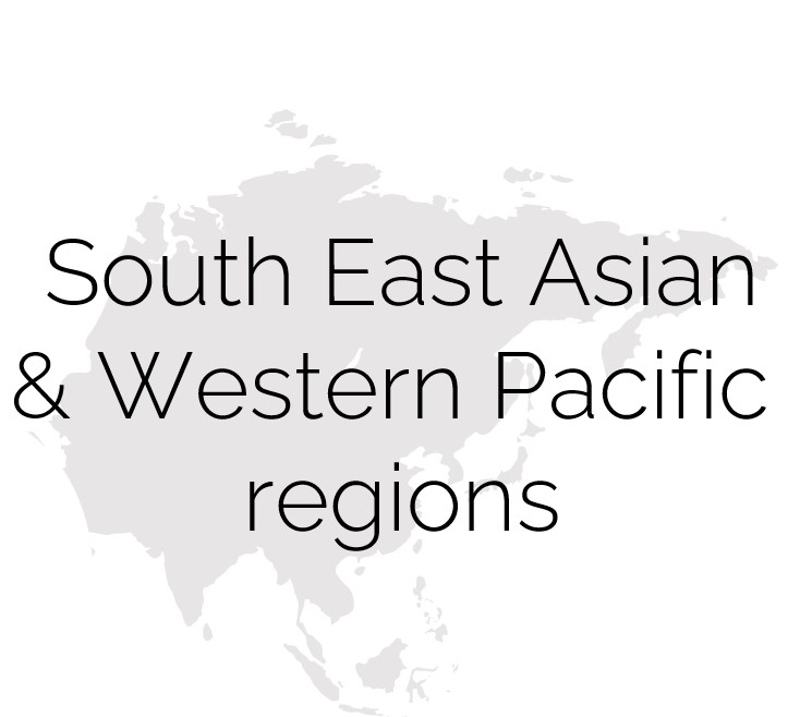 South West Asian & Western Pacific regions